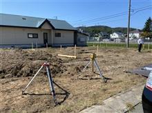 姫神邸基礎工事準備