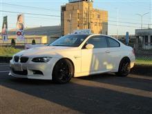 こちらもメンテナンス..BMW E92 M3 エンジンオイル交換 ニューテック