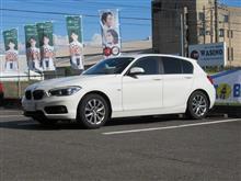 メンテナンスは大事..BMW F20 118d エンジンオイル&エレメント交換 4CT-S