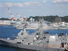 クイーン・エリザベス 横須賀に寄港