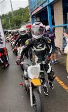 ミニバイクでミニサーキットデビュー