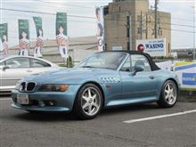 延命処置 BMW Z3 タイヤ及びブレーキ関係リフレッシュ