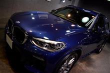 洗練されたBMWらしいSAV!BMW・X3のガラスコーティング【リボルト川崎】