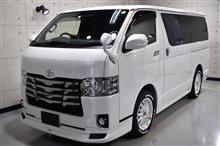 日本の商用車の代表格。トヨタ・ハイエースのガラスコーティング【リボルト埼玉北】