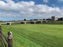 市中抜けて、「犀川緑地公園」散歩+市内有名建造物紹介