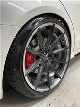 AMG S63 タイヤ交換