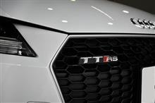 TTのハイパフォーマンスモデル!アウディTT・RSのガラスコーティング【リボルト湘南】