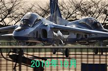 2021年9月2日(木)松島基地展開 (浜松T-4帰投&ブルーインパルス  3rd基地上空訓練/4機5区分/ローパス祭りw)