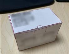 新商品の箱作成しています!