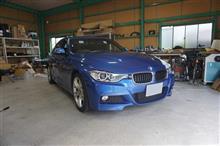 BMW3シリーズのスピーカー交換
