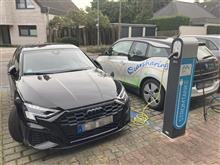 ドイツでもEV用充電器スタンドがかなり増えました。