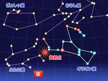 オリオン座流星群、ピークは21日(木)!