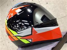 AGV K1 007-RODRIGO ヘルメットにガラスコーティング施工【リボルト大阪北】