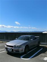 富士山バックに!