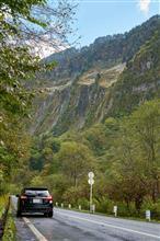 称名滝と有峰林道の紅葉ドライブ