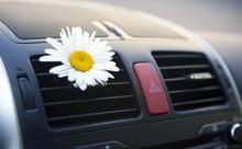 車の中央エアコン