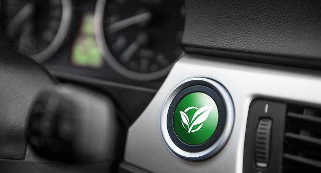 車内緑のボタン