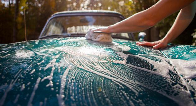 洗車 プロVS自分
