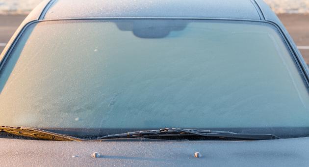 フロントガラス 解氷