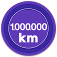 1000000kmキロポスト