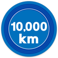 10000kmキロポスト