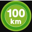 100kmキロポスト
