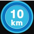 10kmキロポスト