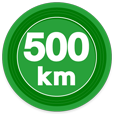 500kmキロポスト