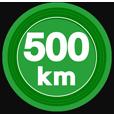 500kmキロポスト