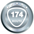 日本最短国道 国道174号