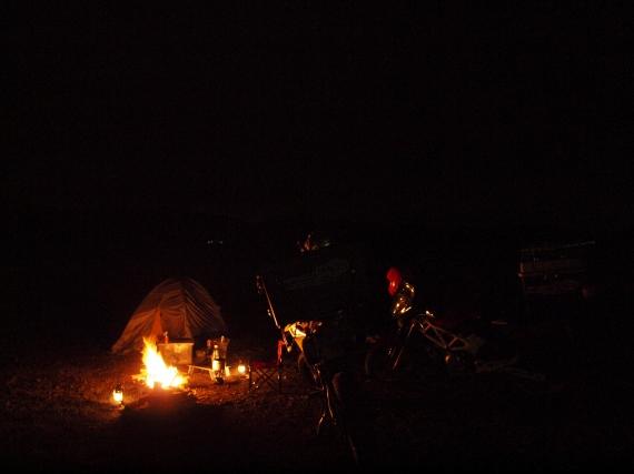 東北ツーリング・キャンプ風景