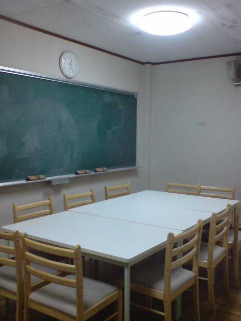 ミーティングルーム。教室開いたり、宴会したり