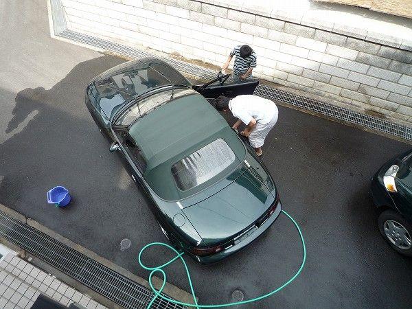 VR Limited Combination B を洗車