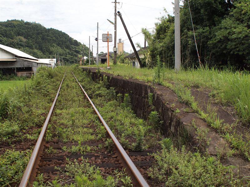福島高松駅ホーム