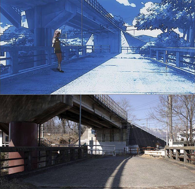 『あの夏で待ってる聖地巡礼』~繰矢川橋