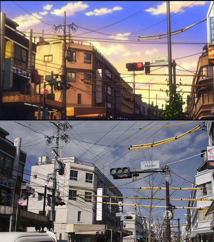 『あの夏で待ってる聖地巡礼』~相生町商店街