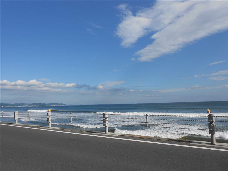 海沿いを走ります。。。