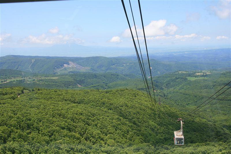 岩木山が見えます!