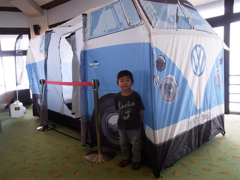 噂のテントです。