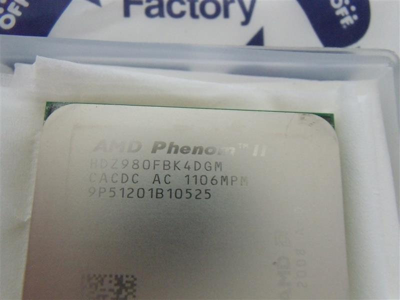 AMD Phenom II X4 980 BE HDZ980FBK4DGM