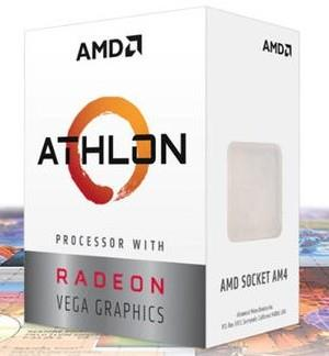 AMD Athlon 220GE/240GE GPU内蔵エントリー向けCPU