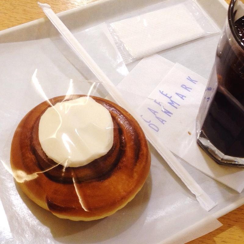豊橋駅 駅ビル「カルミア」カフェ デンマルク