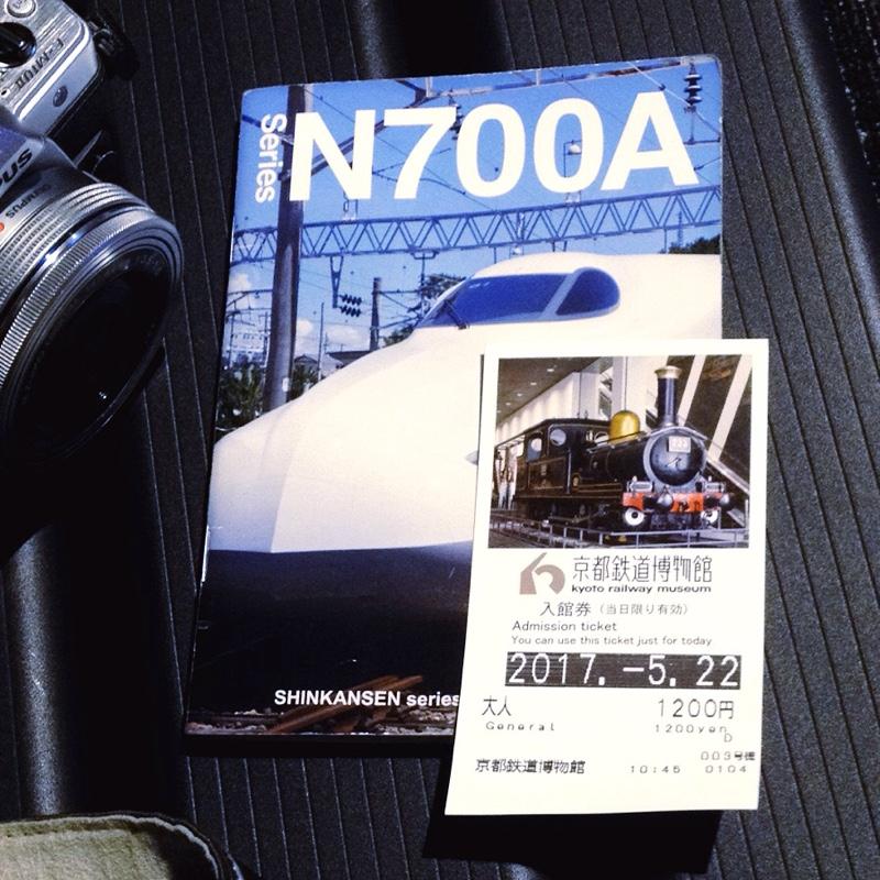 京都鉄道博物館 鉄道ジオラマ ベンチ