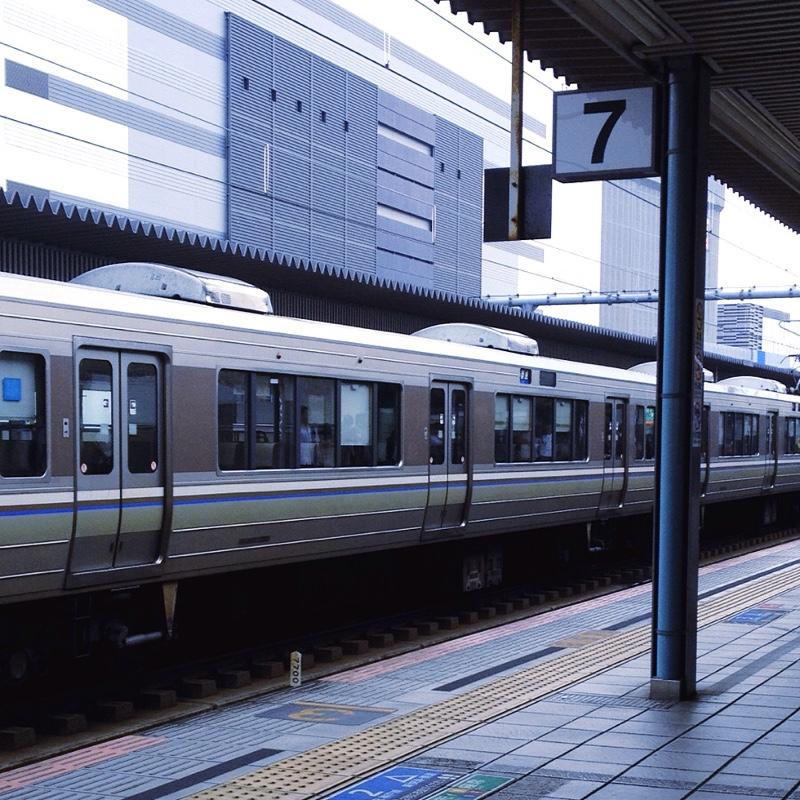 JR姫路駅 7番線ホーム