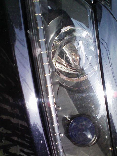 ヘッドライト プロジェクター化2