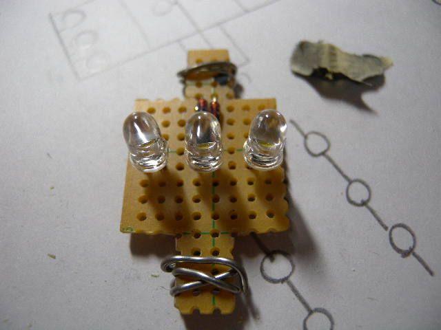 クルーガーV LED ルームランプのカスタム手順2