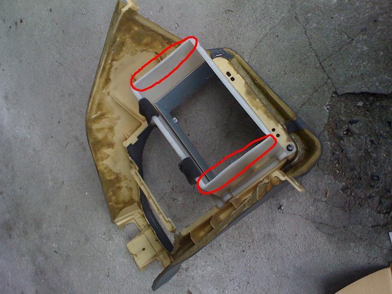 センティア AVIC-VH9900取り付け その2のカスタム手順1