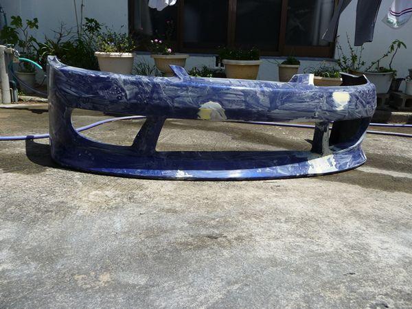 DIYで板金塗装