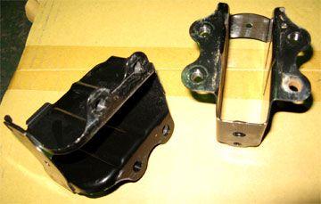 レガシィB4(BL5A)フロントビーム内のブラケット