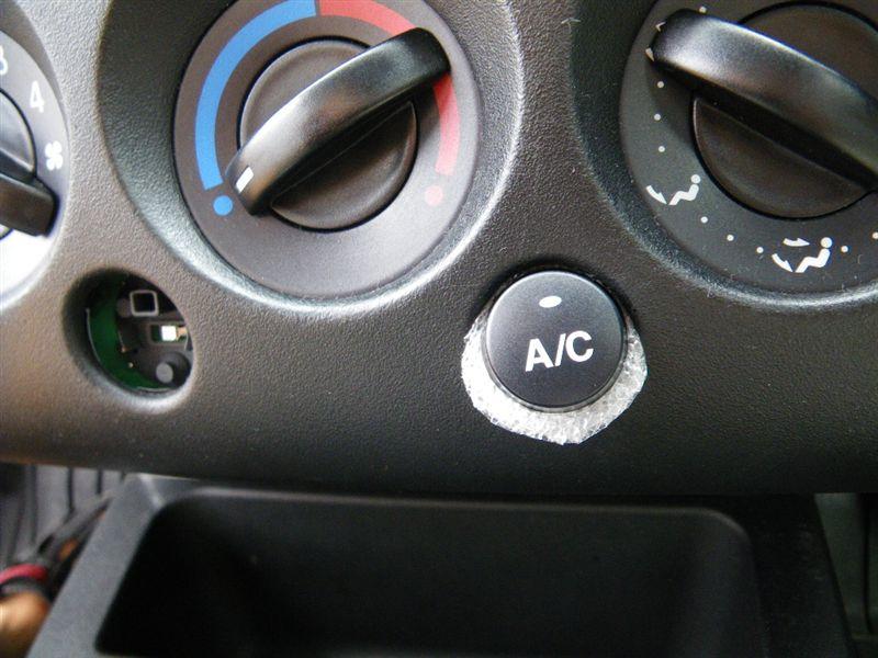 A/Cボタン & 外気導入/内気循環ボタン 補修